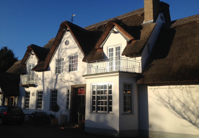 The Red Lion Pub in Grantchester, Cambridge