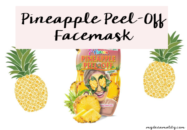 Pineapple Peel Off Facemask 7th Heaven | Review