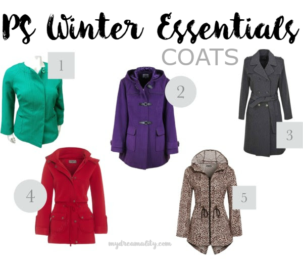 PS Winter Essentials: Coats