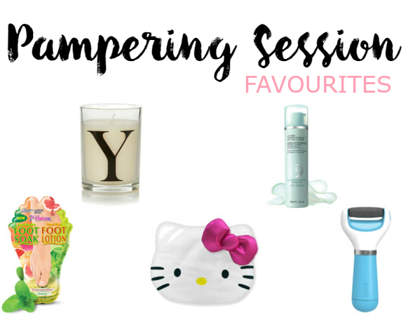 Pampering Session Favourites at Christmas Time