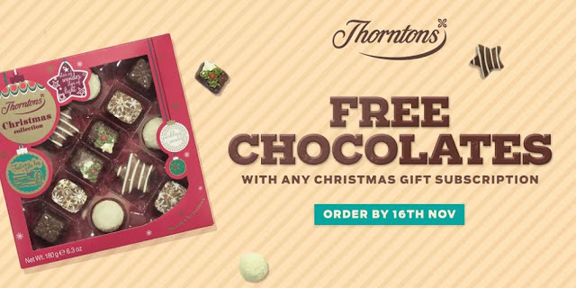magazine.co.uk Free Chocolate Promo