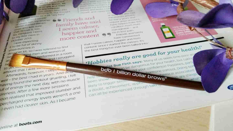 billion Dollar brows: brush