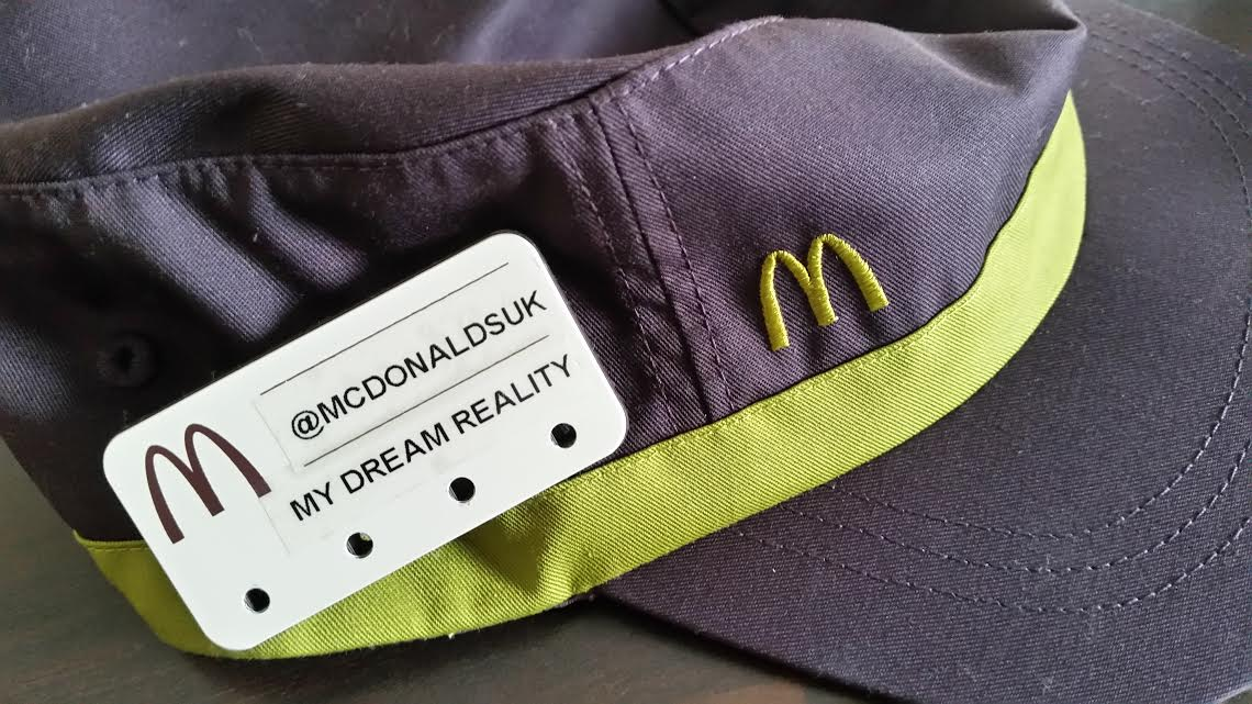 McDonald's Restaurant: My Hat.