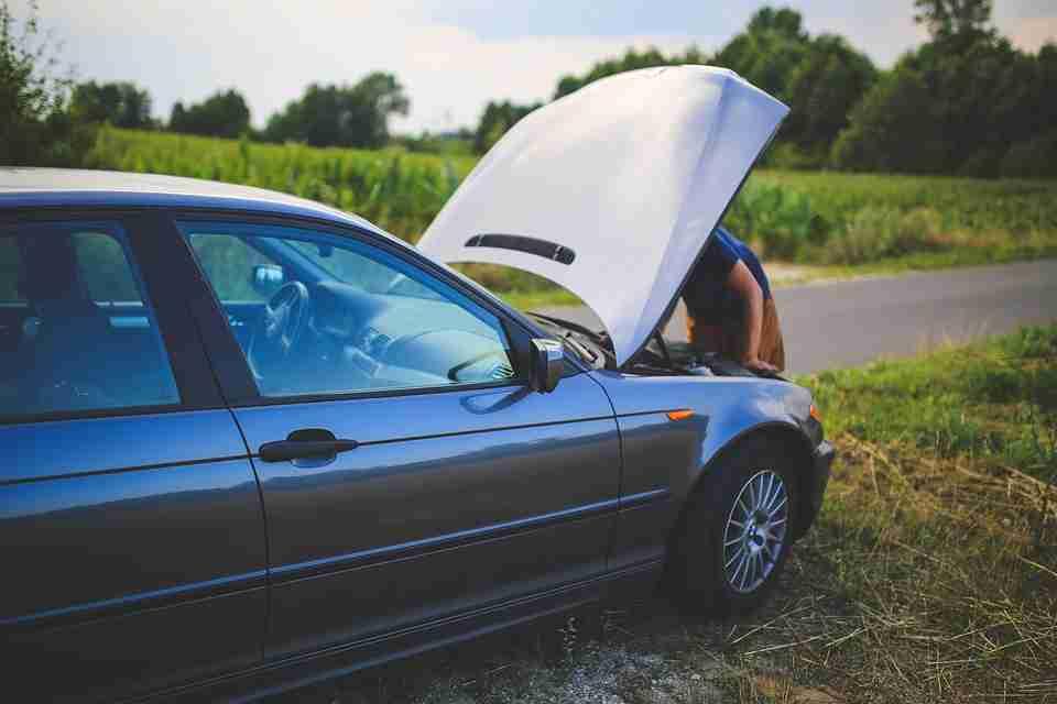 Broken car: staycation