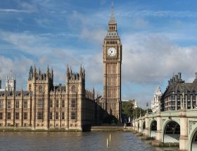 UK Break: Houses of Parliament: London