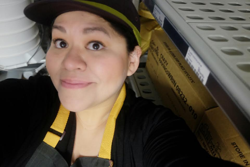 McDonald's Restaurant: My selfie in the uniform!