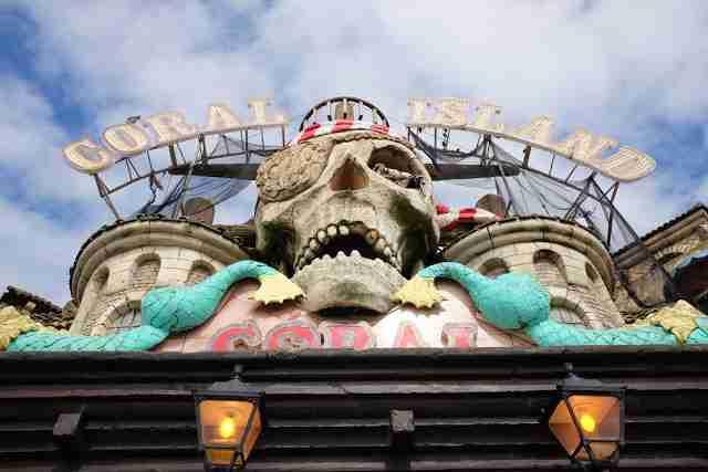 Bank Holiday Fun + Coral Island in Blackpool