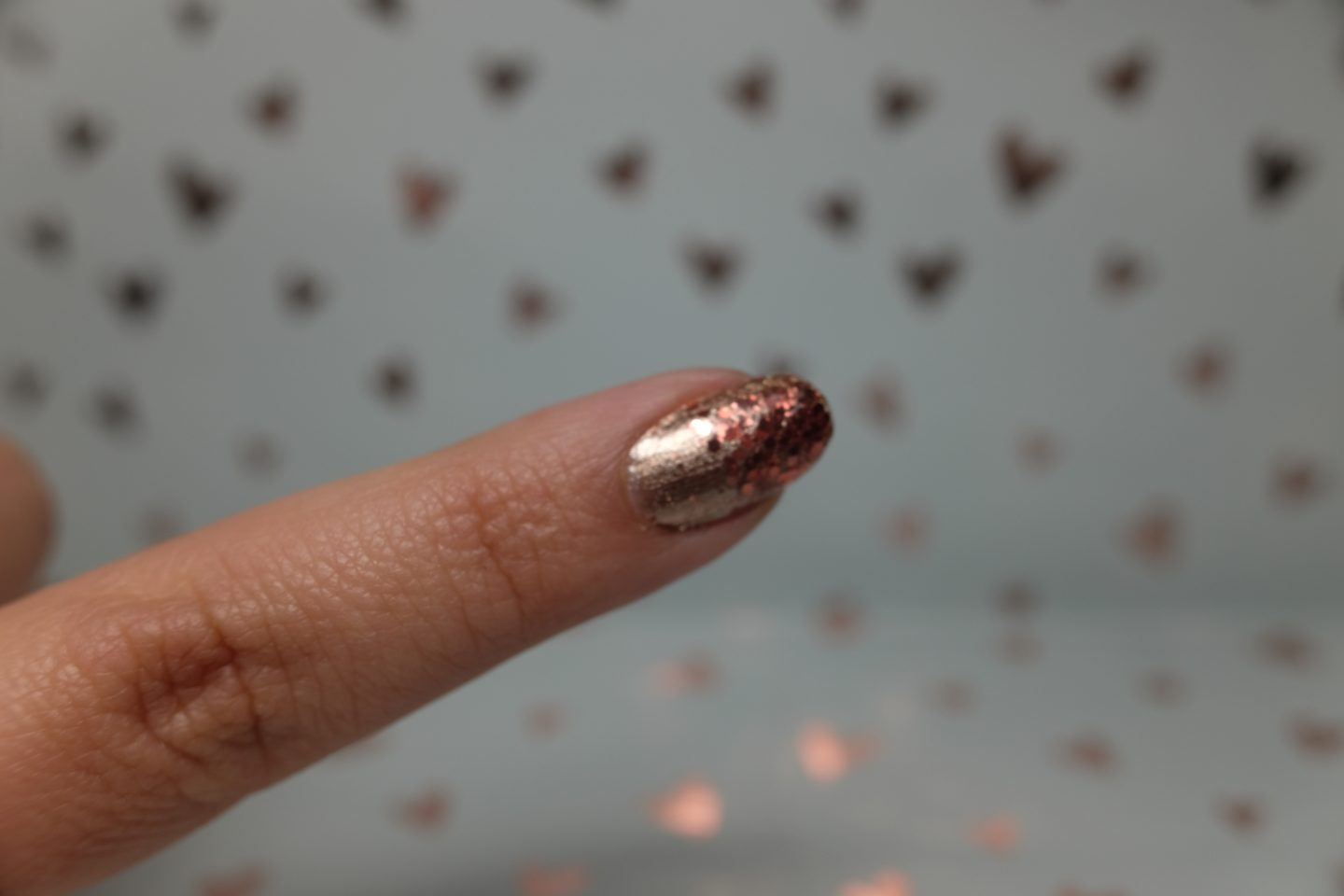 Metallic Accent Nail