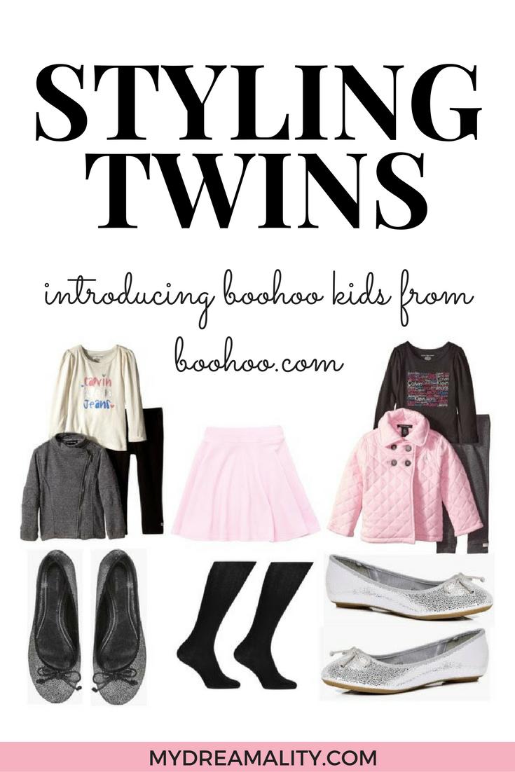 Styling Twins introducing Boohoo kids from Boohoo.com