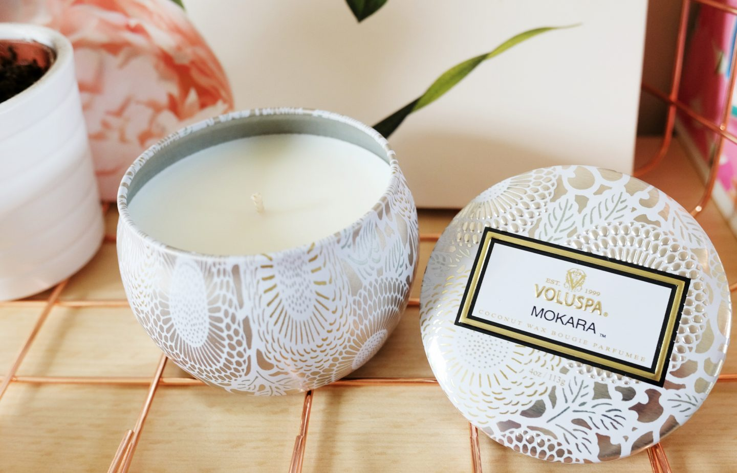 Mother's Day Gift: Voluspa cream.