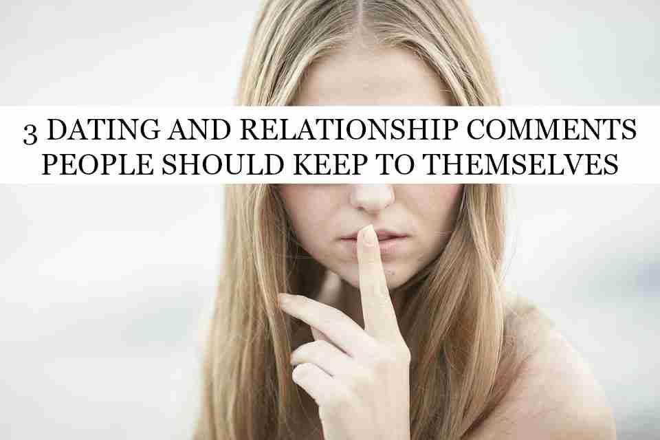 relationship comments