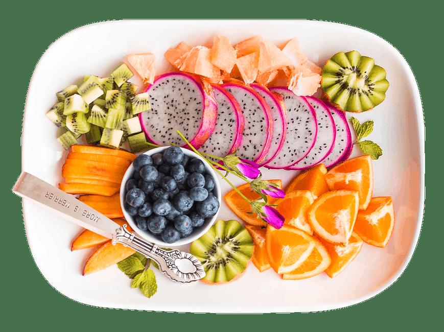 fruit salad: healthy on the inside