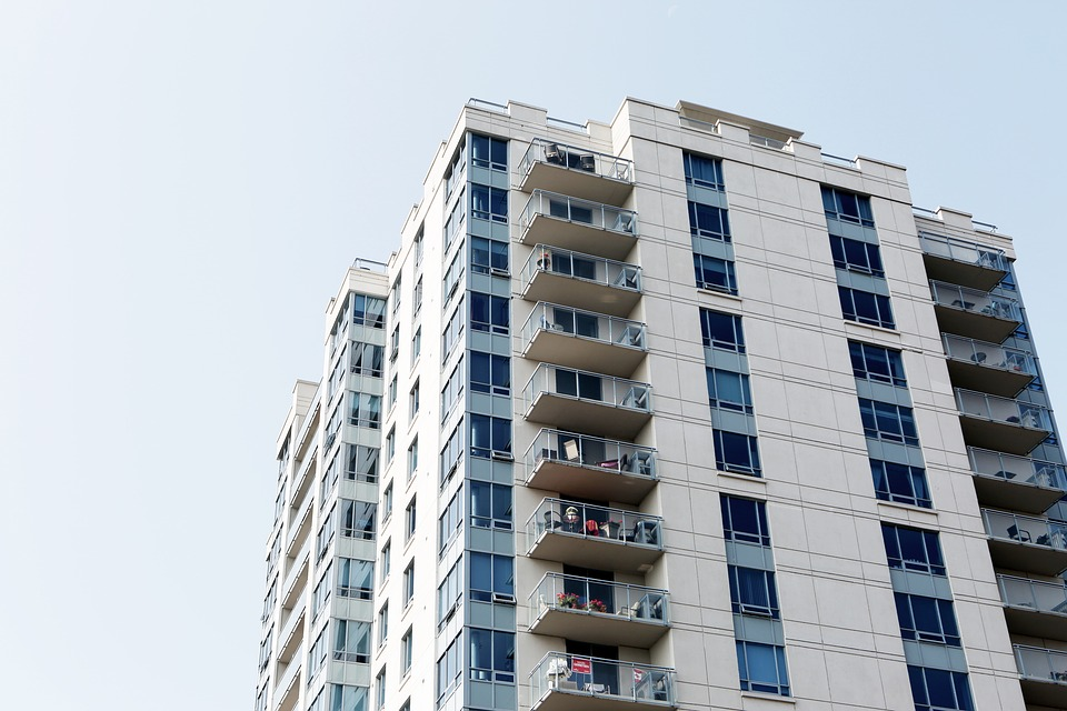 Apartment building: type of abode
