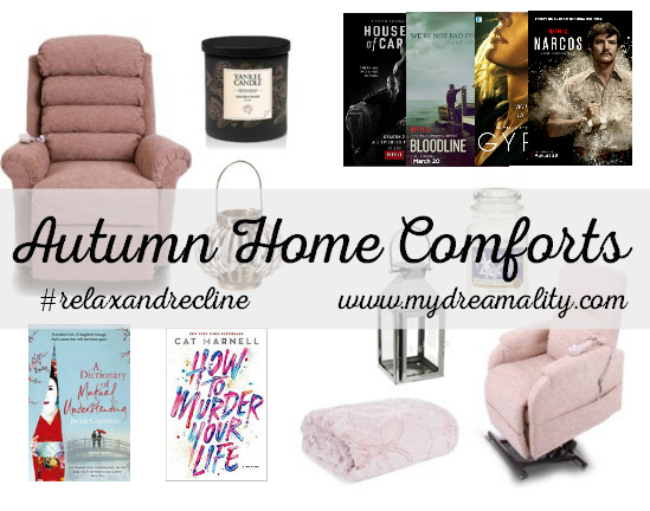The Best in Autumn Home Comforts #RelaxandRecline