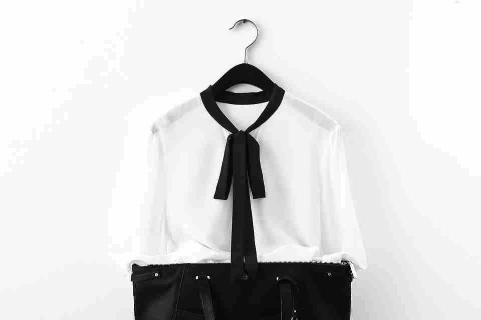 woman's suit: office dress code