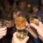 dating world: women drinking spririts