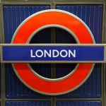 London tube sign: London students