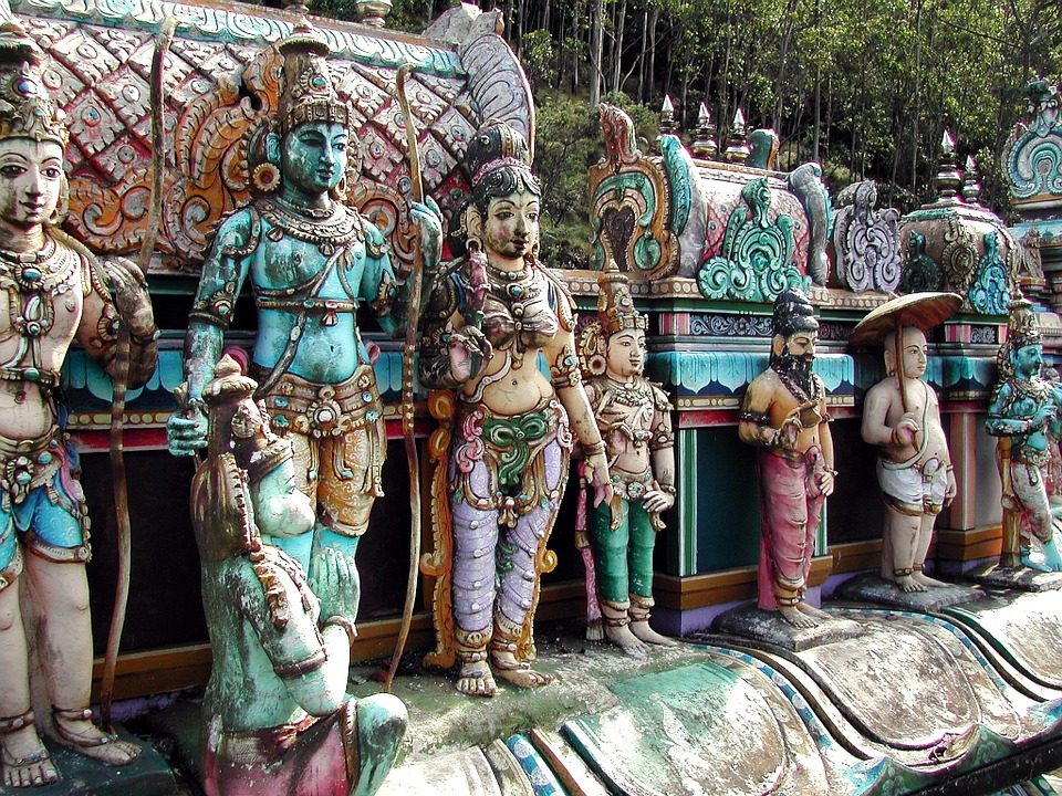 planning the perfect honeymoon; Thailand statues.