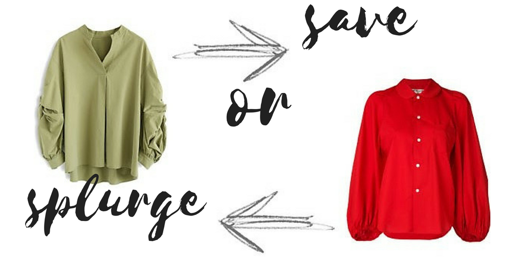 Save or Splurge – The Top Spring 2018 Fashion Trends
