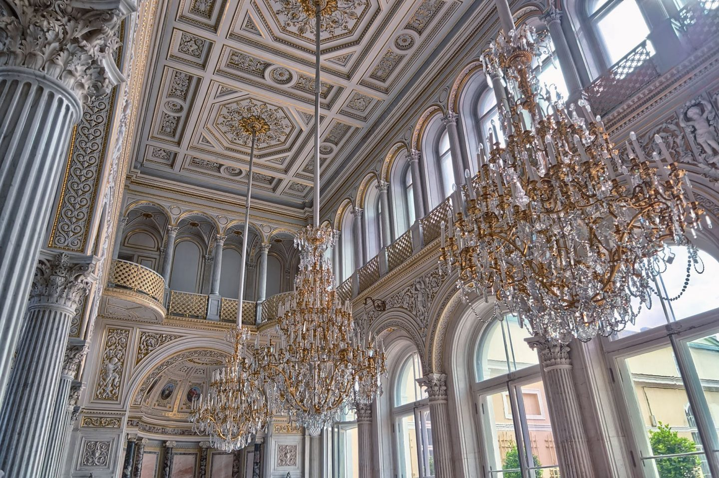 the Hermitage: Places in St Petersburg