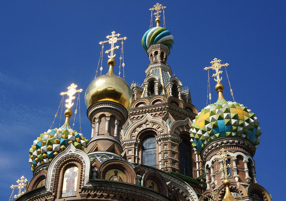Church of Spilled Blood: Places in St Petersburg