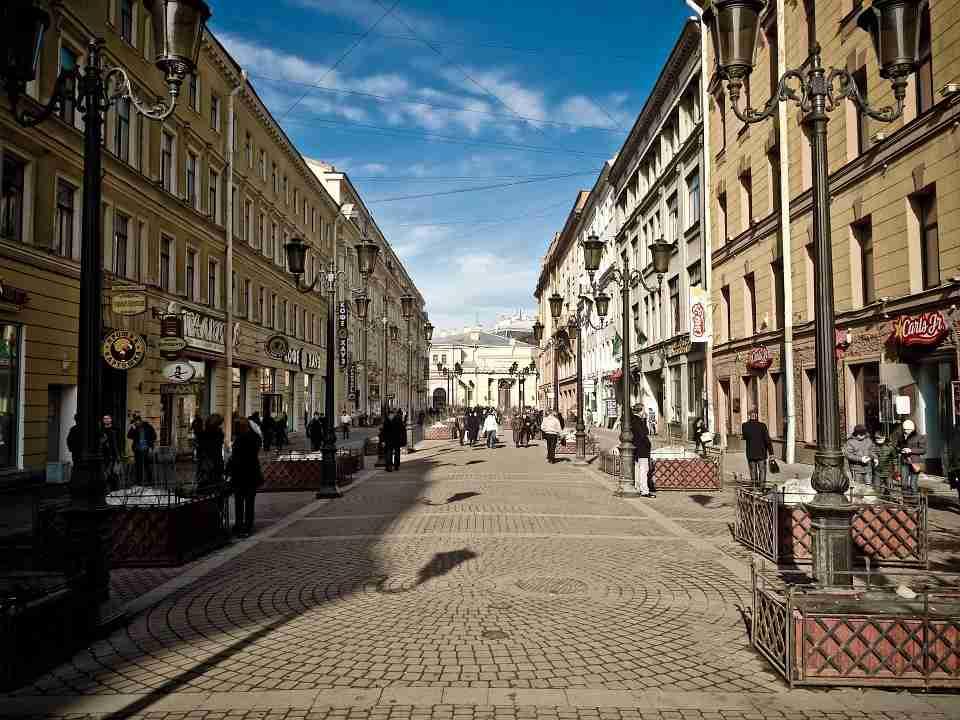 High Street: Places in St Petersburg