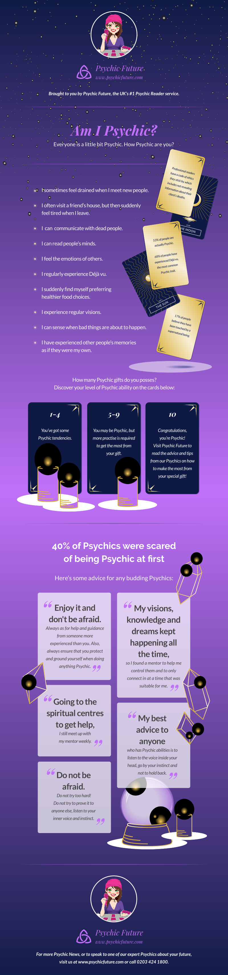 psychic abilities: Pinterest graphic