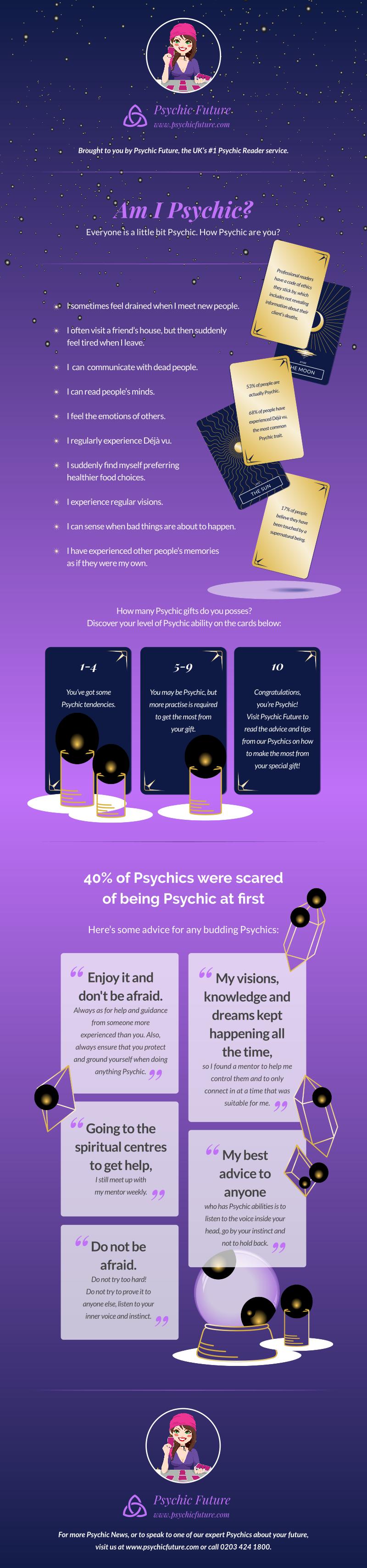 psychic abilities: Pinterest graphic
