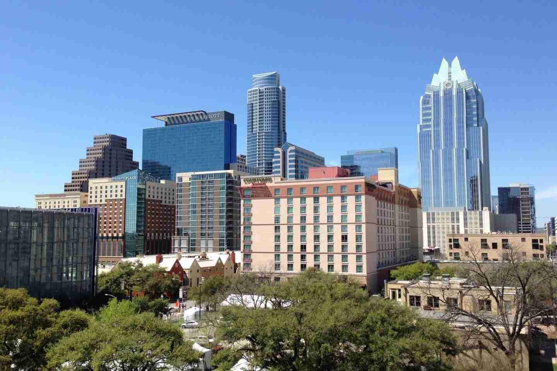 Texas cities: Austin downtown skyline