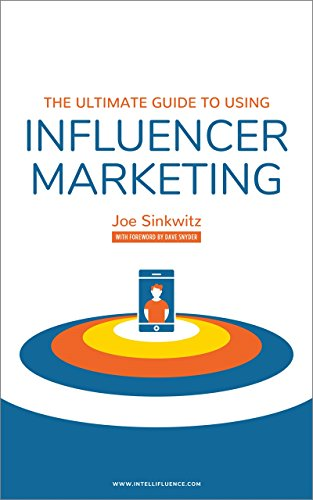 The ultimate guide to using influencer marketing front cover