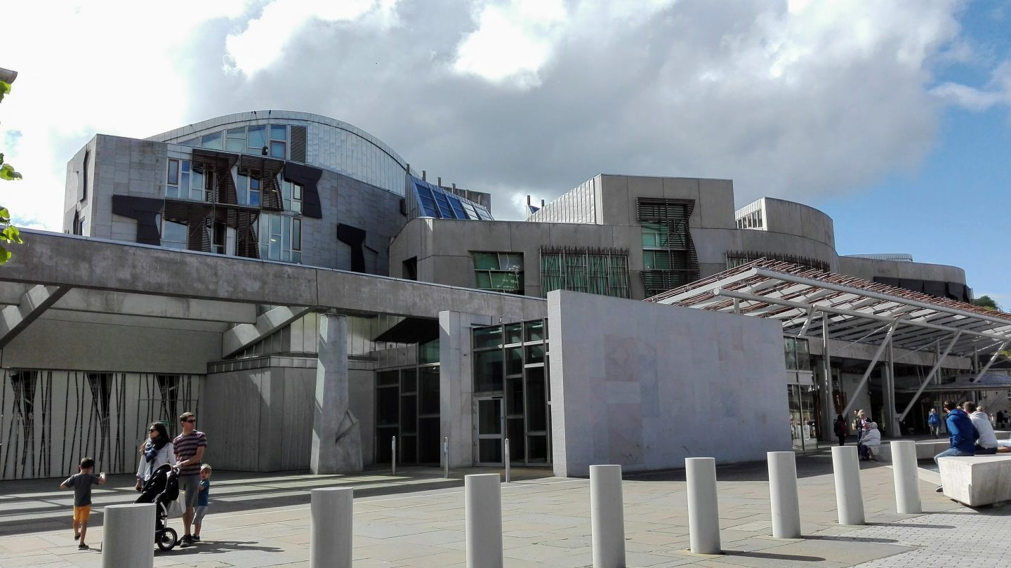 road trip to Edinburgh: Scottish Parliament