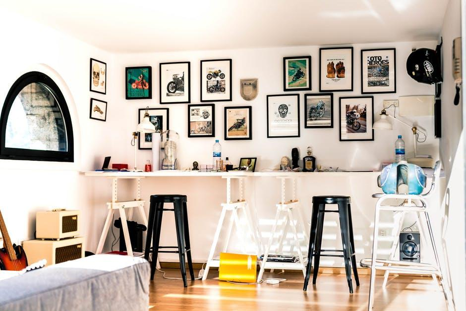 interior design hacks: modern study room.