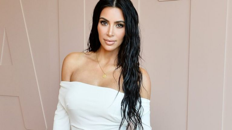 celebrity hairstyle trends: Kim Kardashian