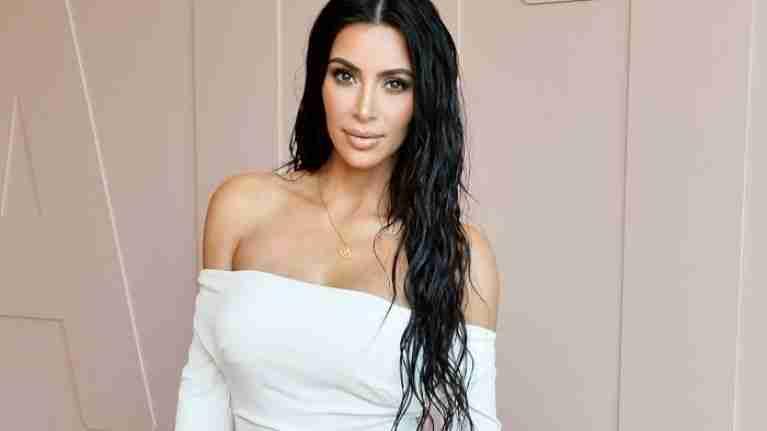 celebrity hairstyle trends: Kim Kardashian