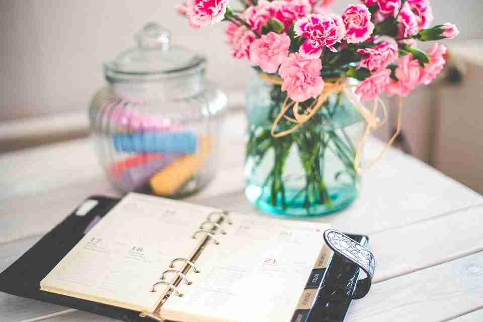 first year blogging: notebook.