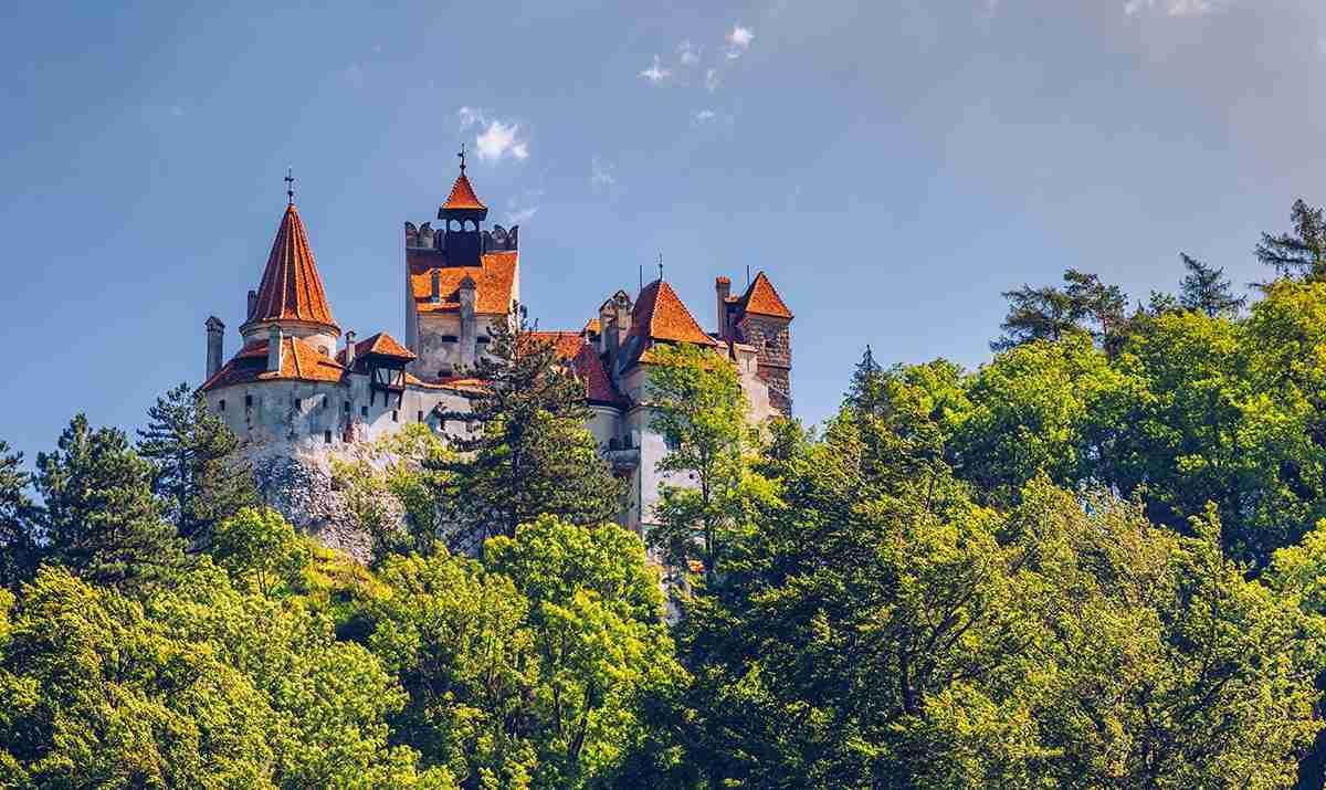 European travel: Romanian castle