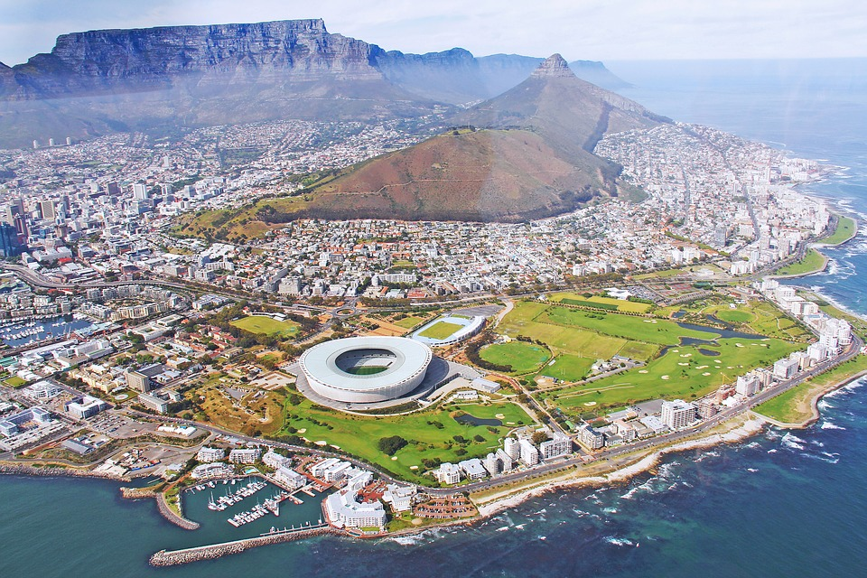 incredible treks: Cape Town from the sky