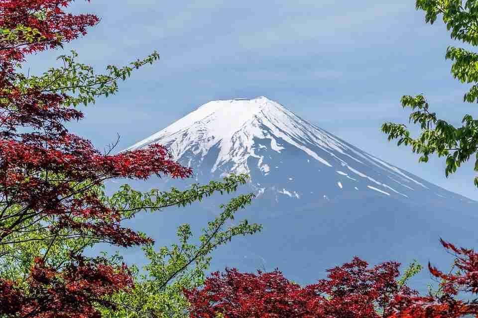 incredible treks: mount Fuji from below.