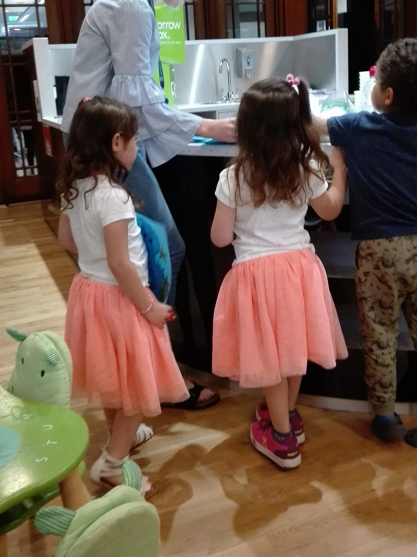 dress your twins: my twin step-daughters.