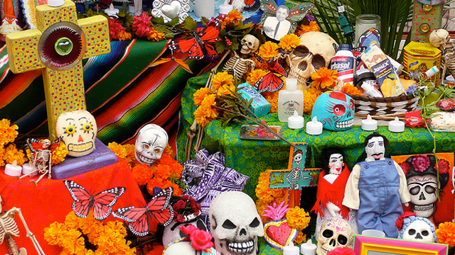 Back Home for the Mexican Day of the Dead