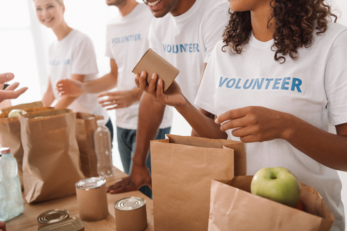 get the most from giving people packing goods in paper bags