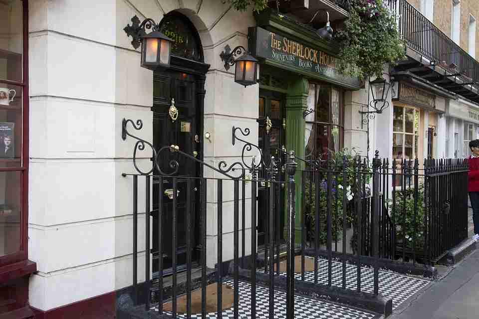 fictional streets: Baker Street