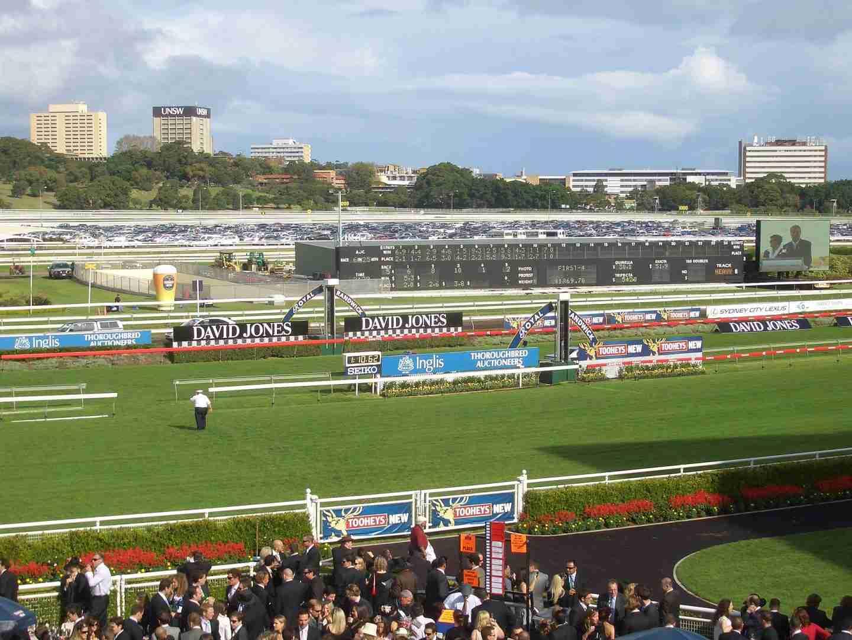 Sydney Royal Randwick racecourse