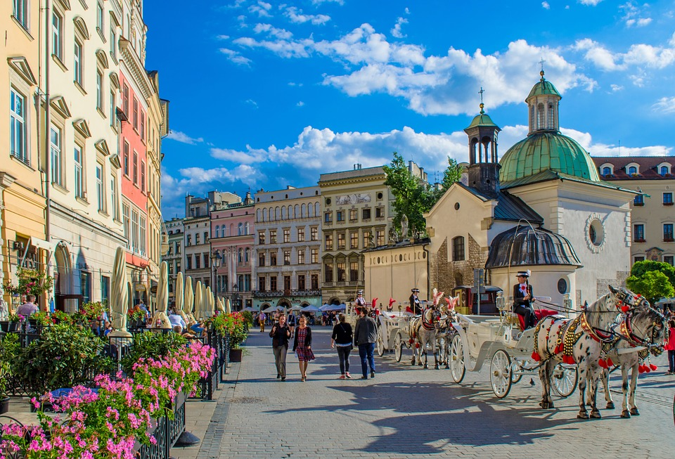 Krakow, Poland couple's getaway abroad