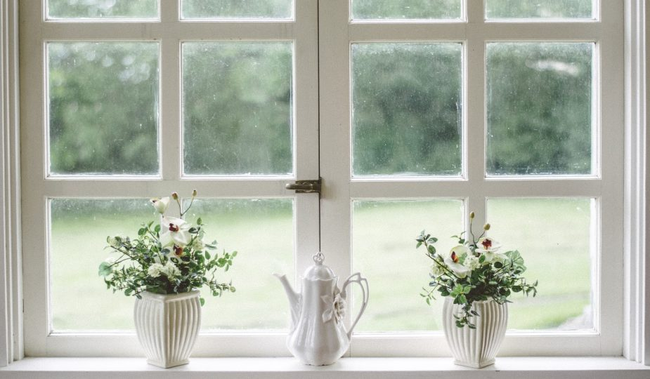 Updating your windows: White framed double windows