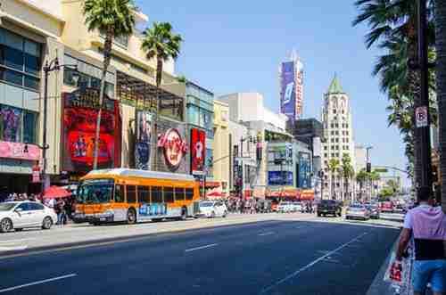 Destination USA: Los Angeles downtown