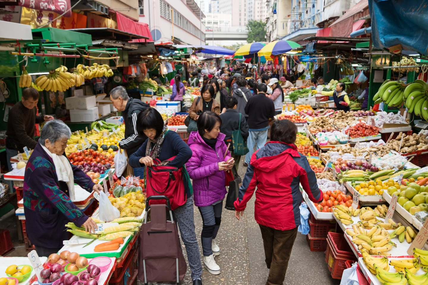 Asian food market: why do we travel