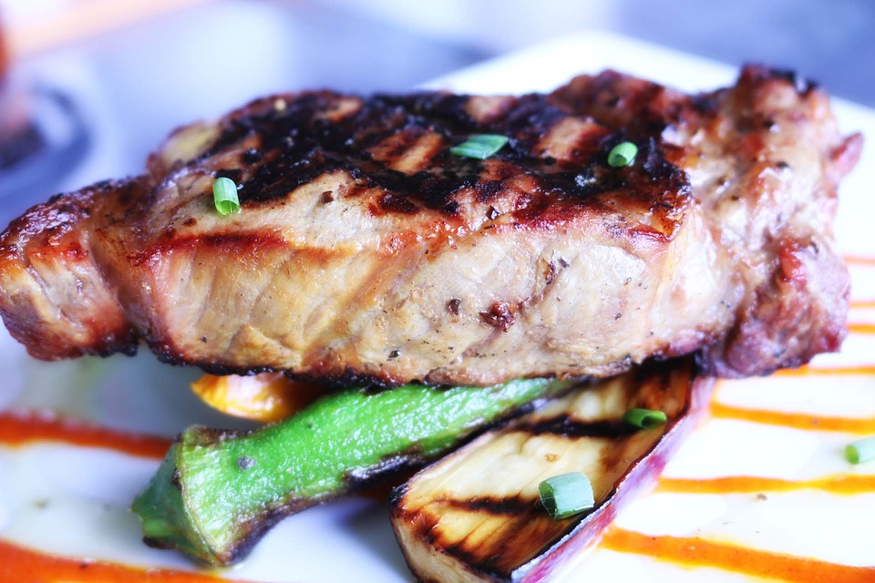 Bermuda: grilled fish on a plate.