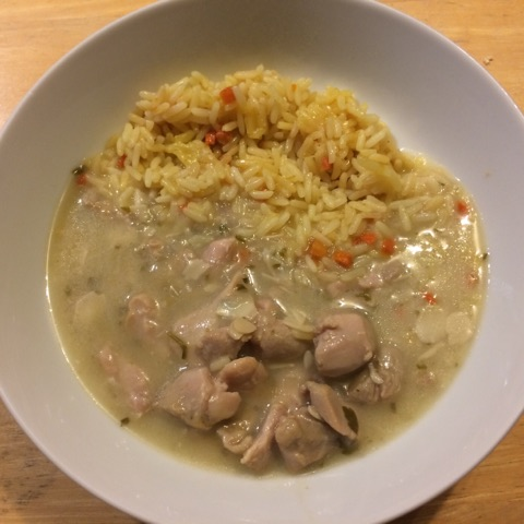 weight loss meals: chicken and rice..