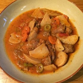 weight loss meals: stew meal in bowl